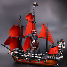Queen Anne's revenge Pirates of the Caribbean for Lego Compatible Building