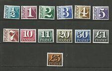 GB 1970  Postage Dues   umm / mnh set