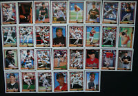1992 Topps Baltimore Orioles Team Set of 30 Baseball Cards