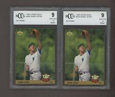 LOT (2) 1993 Upper Deck #449 Derek Jeter New York Yankees BCCG 9 #3
