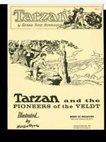 TARZAN and PIONEERS of the VELDT Hogarth EDGAR RICE BURROUGHS House of Greystoke