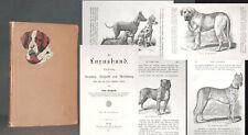 BUNGARTZ Der Luxushund 1888 HUNDERASSE Hunde Zucht Abrichtung
