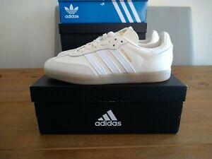 Adidas Velosamba SPD Cycling Shoes Cream White Size 9.5 UK BNIBWT