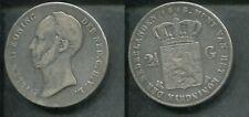 NIEDERLANDE 1846 - 2 1/2 Gulden in Silber, ss - WILLEM II.