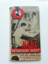 Rare Vintage Halie photographic Retouching outfit  - Negatives & lantern slides