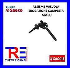 ASSIEME VALVOLA EROGAZIONE COMPLETA MACCHINA DEL CAFFE' SAECO 11010544