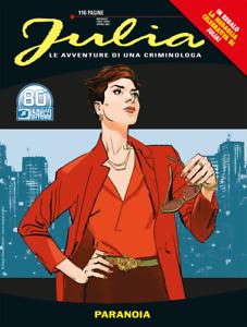 Julia N° 271 - Paranoia + Medaglia Julia - Sergio Bonelli Editore ITALIANO NUOVO