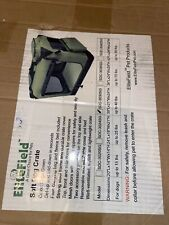 "24"" EliteField 3-door Soft Folding Dog Crate Cage Kennel  + FREE Mat & Bag"