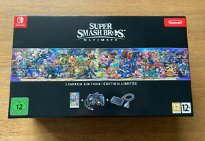 BRAND NEW SEALED SUPER SMASH BROS ULTIMATE LIMITED EDITION FOR NINTENDO SWITCH