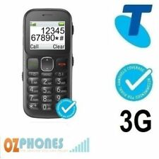 Telstra EasyCall 3 ZTE T303 Next G - Bluetick with Big Buttons Mobile Phone