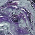 Art Print, Framed or Plaque By Cindy Jacobs - Abstract in Purple I - CIN1511