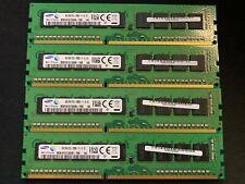 Samsung 32GB (8GBx4) 2Rx8 PC3L-12800 DDR3-1600 1600MHz ECC Unbuffered RAM 1443