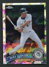 2011 Topps Chrome Atomic Refractor #85 Mike Stanton 105/225 Marlins