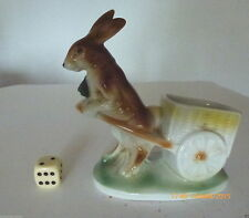 Porzellan-Figuren mit Hasen-Motiv