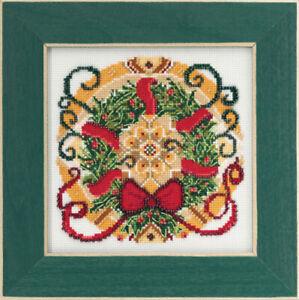 10% Off Mill Hill Counted X-stitch/Bead Kit - Mandala Quartet - Winter Mandala