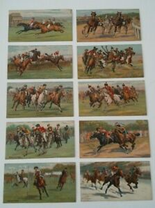 Turf Cigarette Cards 'Races-Historic & Modern' 1927. Complete your own Set
