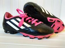 reputable site a0ac1 6f3e4 Adidas Soccer Cleat Youth Male Boys Pink Black White Size 2 TRX FG PMA  20M001