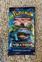 1 Pokemon TCG XY Evolutions Booster Pack Venusaur Artwork!!