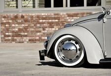 "ATLAS 15"" White Wall Portawall Rubber ring insert trim 4pcs VW BUG PRE BEETLE"