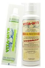 Vitamyr Value Package 6 - 1-5.4 Oz Natural Toothpaste w/ Xylitol &1LG  Mouthwash