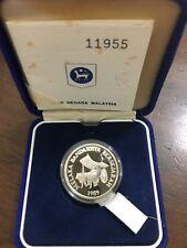 (JC) RM10 Silver proof coin @ Melaka as Historical City (COA 11955)