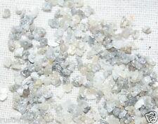 50.0 ct natural raw diamond dust White rough diamond uncut loose diamond dust 31