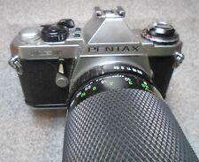 Pentax ME Super 35mm SLR camera with zoom lens