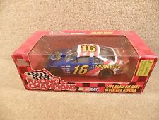 New 1996 Edition Racing Champions 1:24 NASCAR Ted Musgrave Family Channel Ford