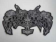 ENSLAVED BLACK METAL EMBROIDERED BACK PATCH