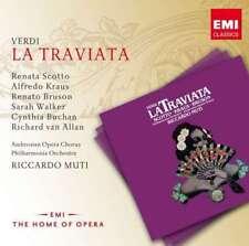 Riccardo Muti/renata Scotto - Verdi: La Traviata NEW CD