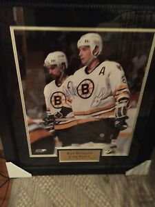 Cam Neely And Ray Bourque Signed 20x24 Photo