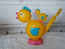 Vintage Easter Celluloid Whistle Toy ~ Chicks ~ Duck ~ Rooster Toy ~Easter Decor