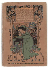 ROBERT LOUIS STEVENSON - A CHILD'S GARDEN OF VERSES illustrated 1908 edition