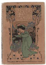 ROBERT LOUIS STEVENSON - A CHILD'S GARDEN OF VERSES illustrated 1908 edition