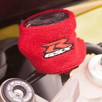 Motorcycle Suzuki GSXR Logo Brake or Clutch Reservoir Sock Cover Large Red