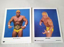 More details for wwf hulk hogan original promo photo's x2 (88 & 89) wwe wcw tna aew