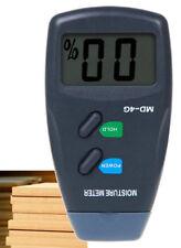Digital 4 Pin LCD Wood Moisture Humidity Meter Damp Detector Tester 5% - 40%
