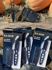 Kabar Neck Knife With Custom Horizontal carry Kydex sheath