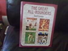 The Great All-Rounders-David Lemmon Hardback English Sport Cricket Crowood 1987