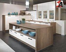 Wellmann L Küche 536 VILAS magnolie / anthrazit supermatt lackiert Landhausküche