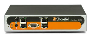 ShoreTel ShoreGear SG220T1 - 220T1 Voice Switch Refurbished with 1 Year Warranty