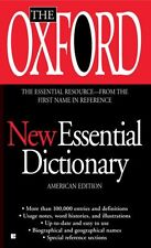 The Oxford New Essential Dictionary: American Edit