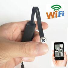 Spy Nanny Wifi Mini Wireless secret screw HD 720P Webcam Camera DVR recorder dvr