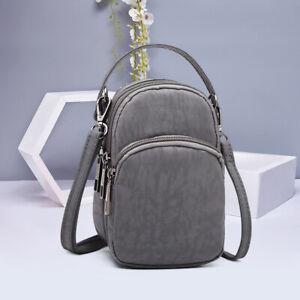 UK Ladies Cross-body Mobile Phone Shoulder Bag Pouch Case Handbag Purse Wallet