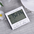 NEW Digital LCD Thermometer Hygrometer Temperature Humidity Meter Gauge Clock