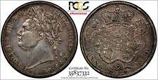 Great Britain George IV Silver 1820 1/2 Half Crown PCGS XF45 Royal Mint KM# 676