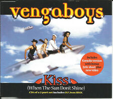 VENGABOYS Kiss 5TRX MIXES & KARAOKE & VIDEO DJ JEAN CD single SEALED USA seller