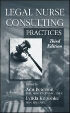 Legal Nurse Consulting Set by Ann M. Peterson (2010, Hardcover / Hardcover,...
