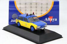 1:43 IXO Volkswagen Brasilia Policia Rodoviaria Federal 1979 Diecast Car Models
