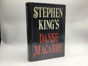 FIRST EDITION Stephen King's Danse Macabre [Everest House 1981] Hardcover RARE